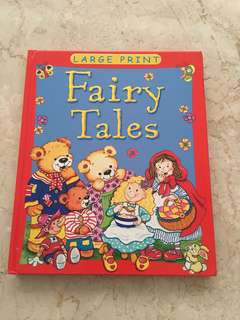 Fairy tales ( large print ) Board book