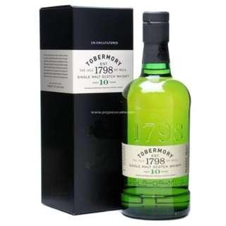 Tobermory 托本莫瑞10年單一麥芽威士忌
