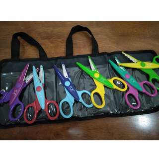 Craft Scissors Set of 6