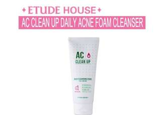 Etude house AC clean up cleanser