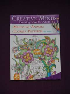 Brand new! Coloring book for adults