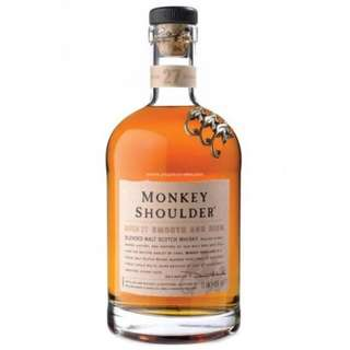 Monkey Shoulder Blended Malt Scotch Whisky 三隻猴子調和威士忌