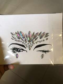 Face Tattoos for Concerts and Festivals