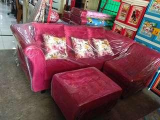 Kredit sofa kasur lemari