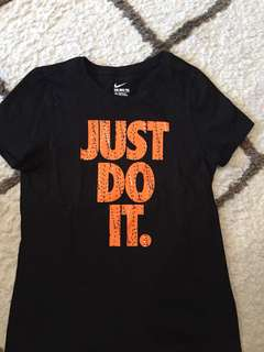 "Nike ""just do it"" top"