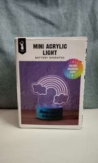 Typo Mini Acrylic Light
