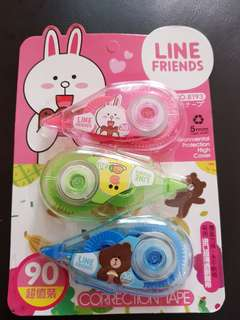 Line friends correction tape