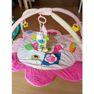 Pink Bunny Playmat and Activity Gym