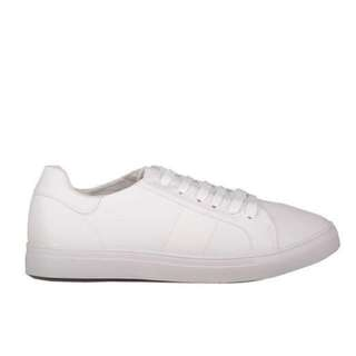 factorie white tori trainers