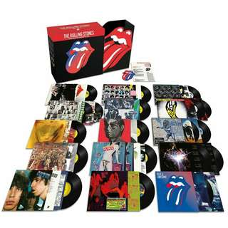 "The Rolling Stones Studio Album Collection 1971-2016 LP vinyl 20 Album 12"" Record not CD"