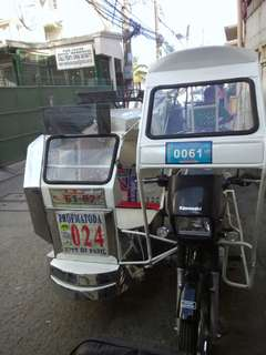 Tricycle-Kawasaki Barako