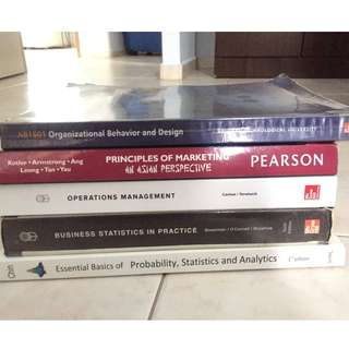 NTU/NBS Year 1 Group B textbook(s)