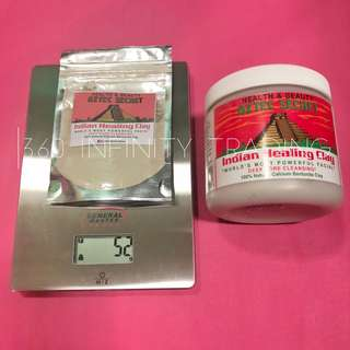 Aztec Secret Indian Healing Clay Mask Trial Pack