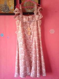 Dress Triset Orange
