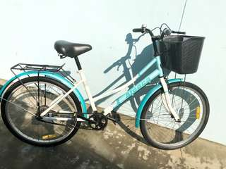 ALEOCA Lady Bicycle With Basket