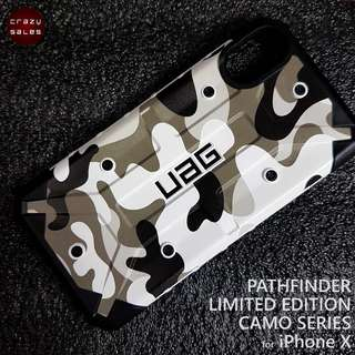 iPhone X UAG LIMITED EDITION PATHFINDER CAMO SERIES (ARCTIC)