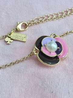 Kate Spade 彩花珍珠頸鍊