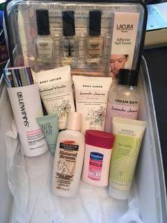 Mix of beauty products
