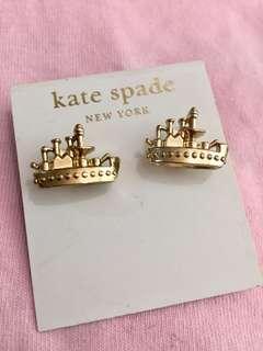 Kate Spade 帆船⛵️ 耳環