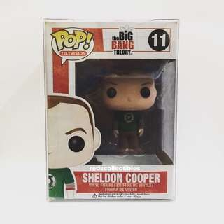 Sheldon Cooper (Green Lantern Shirt) Funko POP