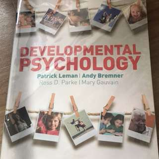 PL3234 Developmental Psychology