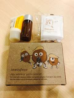 Innisfree Jeju Volcanic Pore Travel kit