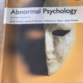 PL3236 Abnormal Psychology 17th Ed