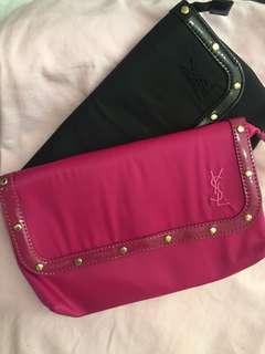 YSL 化妝袋 ($70 pcs)