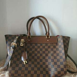 lv damier with sling