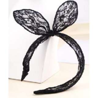 Rabbit Ears Lace Headband