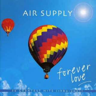 Air Supply ‎– Forever Love: 36 Greatest Hits 1980-2001 2CD