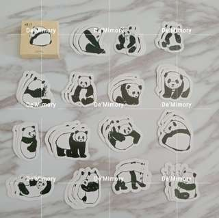 Panda sticker (box)