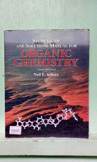 Organic Chemistry by Neil E. Schore 3rd edition