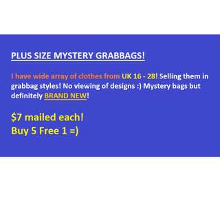 Plus size Mystery Grabbags Tops