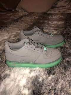 Glow in the dark airforces
