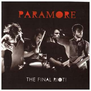 Paramore – The Final Riot! CD