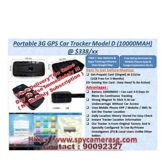 GPS Tracker Vehicle 3G Uses By Private Investigator