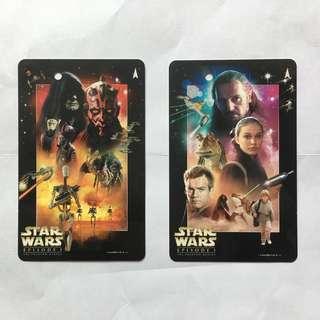 Star Wars smrt special edition tourist souvenir ticket x 2