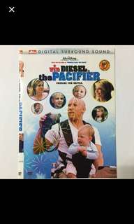 1DVD•CLEARANCE SALES {DVD, VCD & CD} Pre-owned vin DIESEL is the PACIFIER - DVD