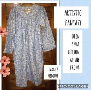 Light Blue Pregnancy Nightgown