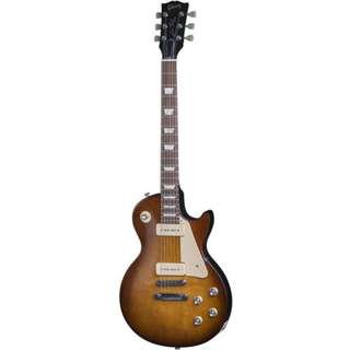 Gibson 2016 Les Paul 60s Tribute T Electric Guitar, Honeyburst w/Dark Back