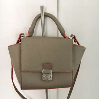 ZARA Trapeze Mini Bag
