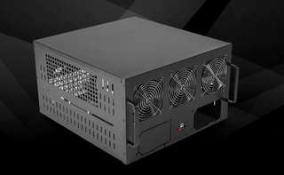 6卡挖礦機箱連全新motherboard+cpu+power supply+ram miner 顯卡 gpu