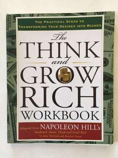 Think and Grow Rich Workbook adapted fr Napoleon Hill