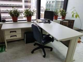 主管L型大辦公桌