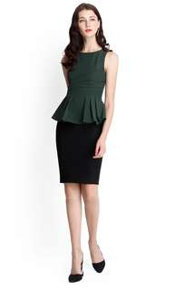 Urban Romance Top In Forest Green