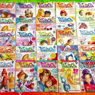 W.I.T.C.H. MAGAZINES/COMICS BUNDLE (FREE SHIPPING)