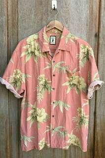 Free Dlvry Men's Summer Floral Buttondown