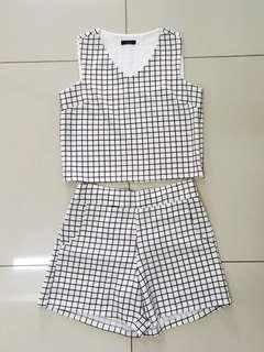 Checkered Set (Top & Bottom)