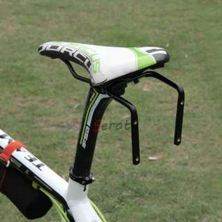 Bicycle Rear Saddle Bracket Holder For Two Water Bottle
